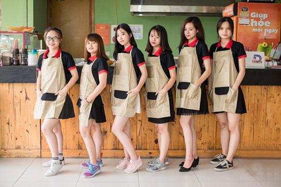 may đồng phục áo thun quán cafe theo yêu cầu quận 6