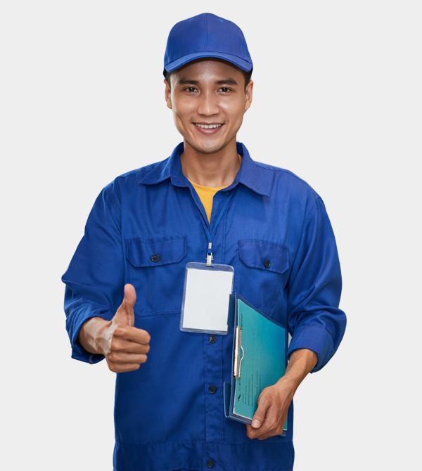 may đồng phục công nhân - bảo hộ lao động