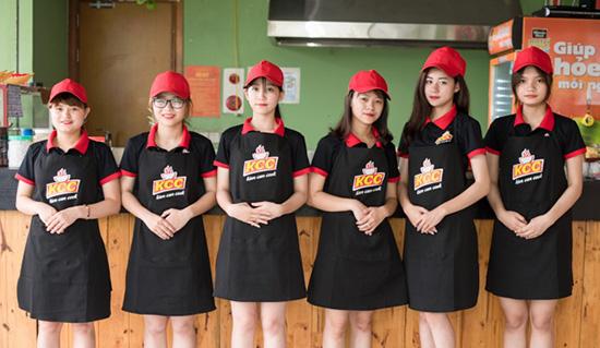 may đồng phục nhân viên phục vụ nhà hàng bình dương