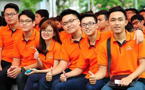 may đồng phục áo thun học sinh đẹp