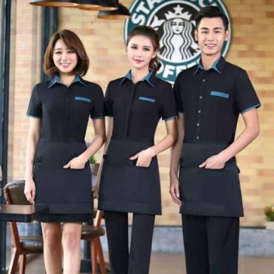 Đồng phục quán cafe giá rẻ tại quận 4
