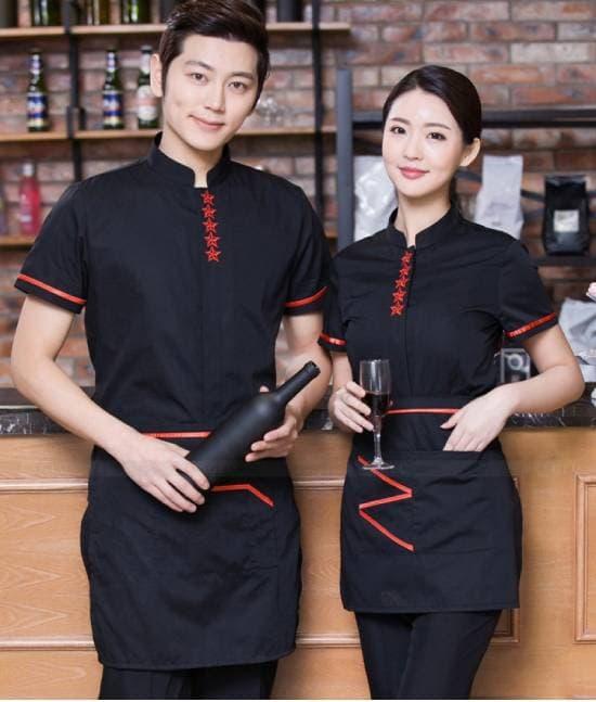 Đồng phục quán cafe giá rẻ tại quận 7